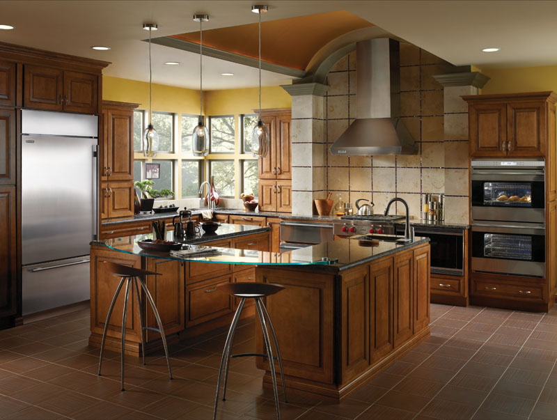 Sub Zero/Wolf Stainless Built In, Integrated Kitchen