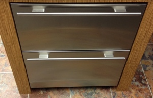 "Sub Zero 27"", Fridge Drawers W/Stainless Panels 700BR/7007196 MSRP $6059 SALE $ *Last One, Floor model"