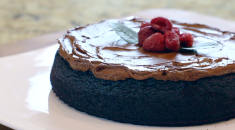 Beautiful Chocolate Quinoa cake. Rich in flavour and perfect in texture.